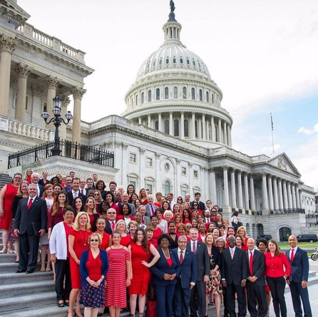 Gracie Doran visited the nation's capital to speak about healthcare reform.
