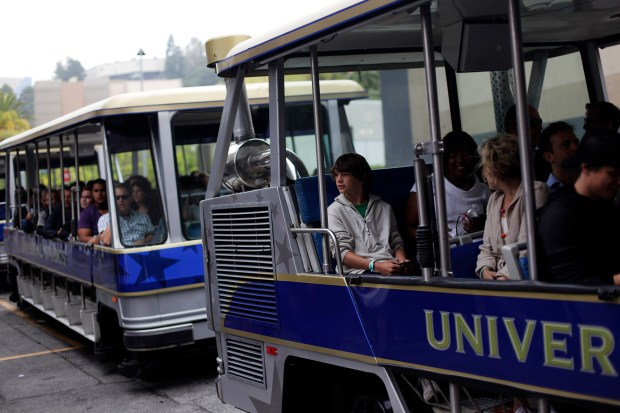 Hop on The World-Famous Studio Tour for a relaxing and shaded ride through Universal Studios Hollywood's famed backlot and as the tram takes guests through the King Kong 360 3-D, Fast & Furious – Supercharged! attractions and more. (Photo by Dan Krauss, Orange County Register/SCNG)