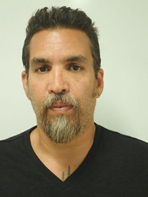 Derick Almena was arrested Monday and charged with 36 counts of involuntary manslaughter. He was booked into Lake County jail. (Lake County Sheriff's Office)