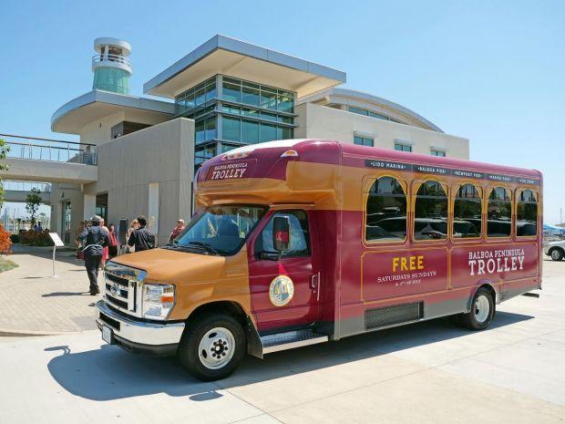 The Balboa Peninsula Trolley recorded 23,000 boardings during its 12-weekend summer run.