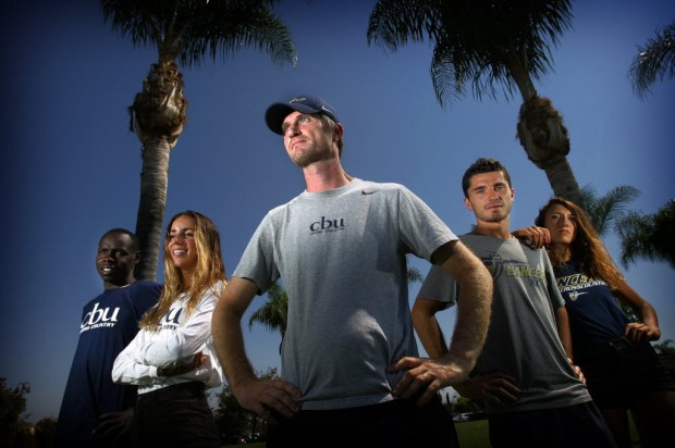 Ben Gall led Cal Baptist cross country and track teams to the NCAA championships meets.