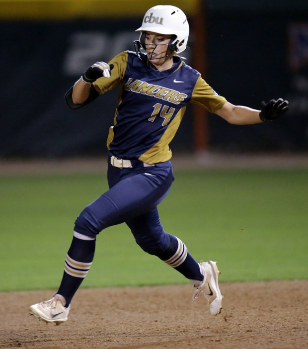 Cal Baptist's Caitlyn Lloyd was tabbed PacWest player of the year and freshman of the year.