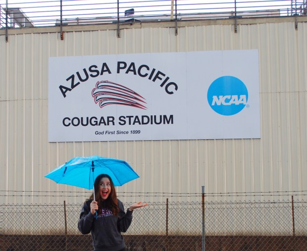 Cari Ross, OCSAAzusa Pacific University: acting for the stage and screen major; kinesiology, undeclared minor (Photo courtesy of Cari Ross)