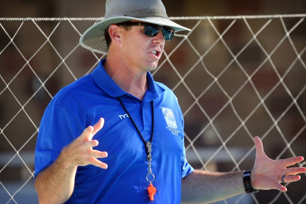 RCC women's water polo coach Doug Finfrock led his team to a state championship.