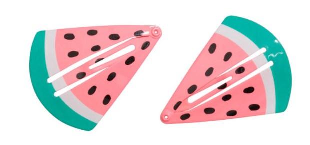 Watermelon hair clips, H&M, $3.99 (handout photo)