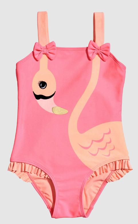 Flamingo one-piece swimsuit, H&M, $17.99. (handout photo)