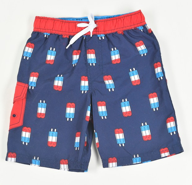 Cat & Jack popsicle swim trunks, Target, $12.99. May 18, 2017. (Photo by Nick Agro, Orange County Register/SCNG)