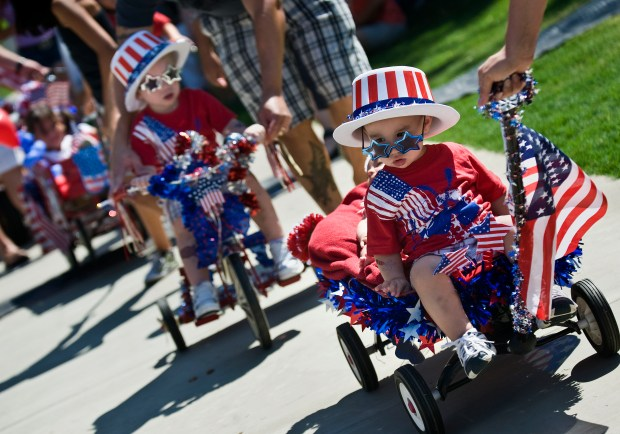 The kiddie parade is always popular during the Brea Country Fair. (Register file photo)
