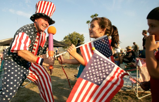 The annual Fireworks Spectacular at the Joint Forces Training Base in Los Alamitos is planned again this year. (Register file photo)