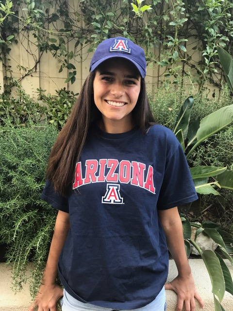 Paige Mills, OCSAUniversity of Arizona: musical theatre major; business administration, undeclared minor (Photo courtesy of Paige Mills)