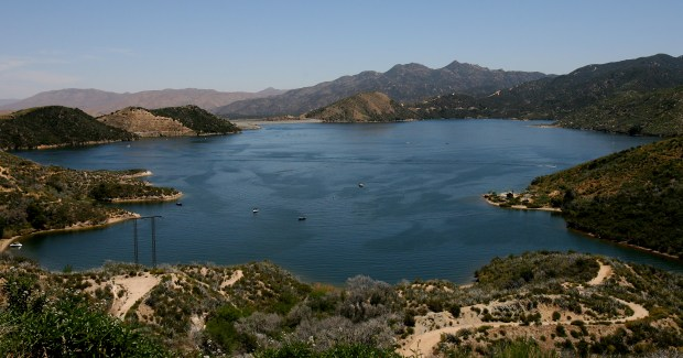 ORG XMIT: (05/14/09, Metro, San Bernardino) Most of the 200 lakes studied by the state do not contain mercury, PCBs or other toxins. Silverwood Lake in San Bernardino County was called out in the recently released report because it contained high levels of mercury and PCBs. (Mark Zaleski/The Press-Enterprise)