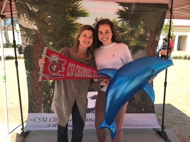 Regan Vombaur, left, Whittier ChristianCal State Channel Islands: business major; performing arts, minor (Photo courtesy of Regan Vombaur)