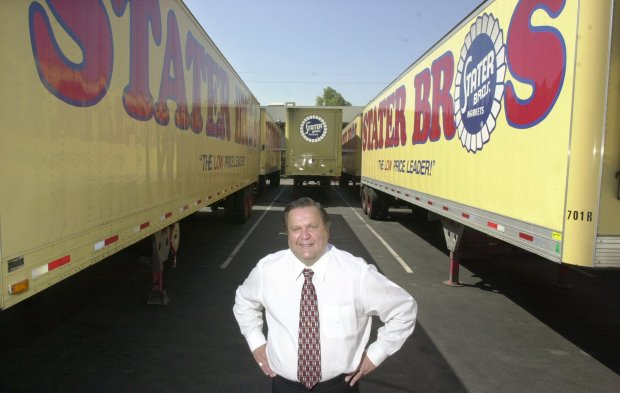 ORG XMIT: BIZ BROWN A DI Colton 080701 Peter Phun---Jack Brown is the president of Stater Bros.This is for a profile on him.