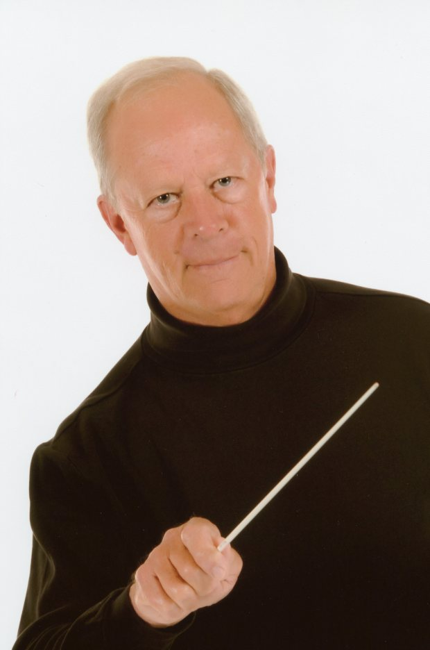 Thomas Ridley is in his 41st year as band leader of the Huntington Beach Concert Band. Photo Courtesy Thomas Ridley