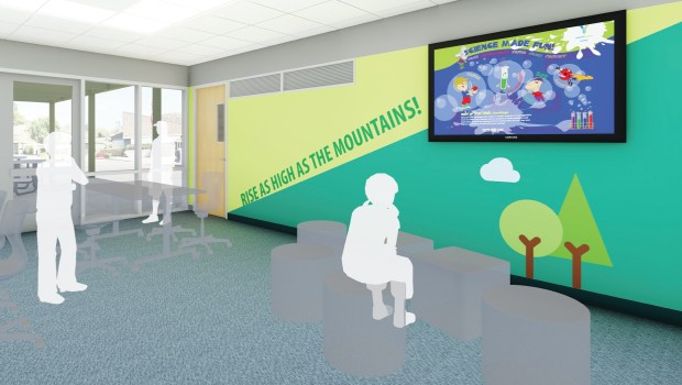 Renovations are underway at Bonita Canyon Elementary in Irvine with the $319 million Measure E bond money. (Courtesy of Irvine Unified School District)