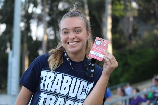 Emily Cross will be a senior at Trabuco Hills this fall, where she will continue her cross country and track and field career (Photo courtesy of Emily Cross).