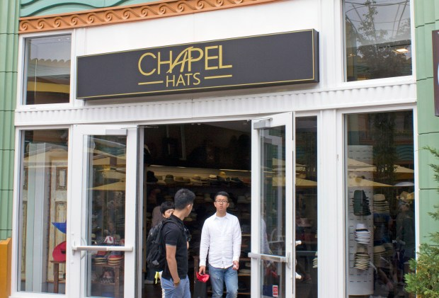 Chapel Hats, a shop in Downtown Disney, will be closing by the end of September. The shop opened in 2016 in the space formerly occupied by the Little MissMatched shop. The shop will be replace by additional dining facilities at the Disneyland Resort. (File photo by Mark Eades, Orange County Register/SCNG)