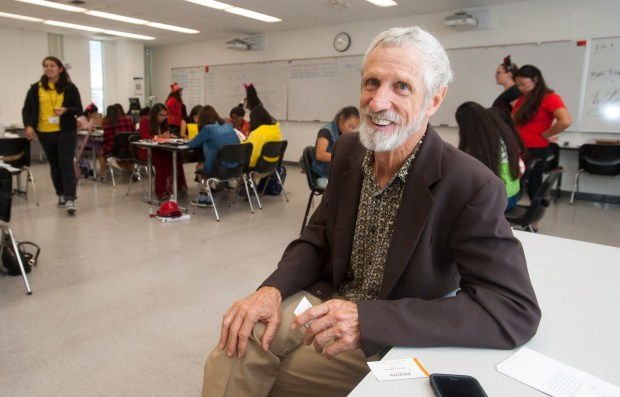 David L. Pagni, a CSUF math professor, directs Project MISS. (Photo by Sam Gangwer, Orange County Register/SCNG)