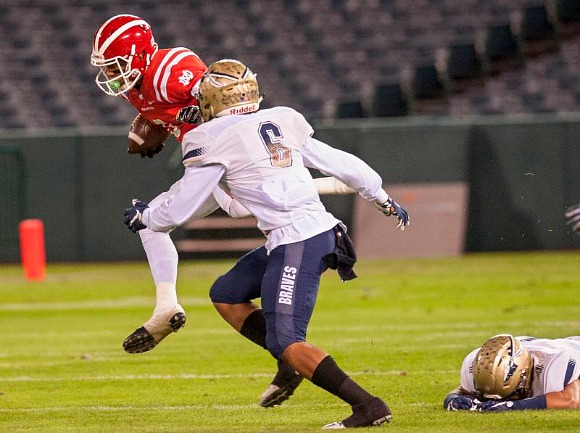 Mater Dei and wide receiver Amon-Ra St. Brown are ranked second to rival St. John Bosco in the High School Football America Preseason Poll.