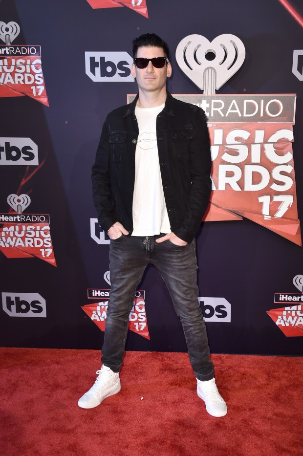 Gary Richards, founder of Hard who performs as Destructo, attends the 2017 iHeartRadio Music Awards in Inglewood, California. (File photo by Alberto E. Rodriguez/Getty Images)