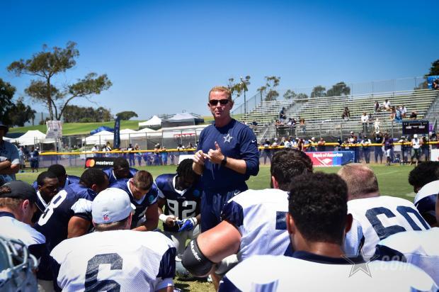 Dallas Cowboys training camp in Oxnard