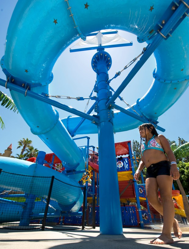 Buccaneer Cove at Castle Park in Riverside, shown here in 2011, is open on Monday. (File photo by Rodrigo Pena)