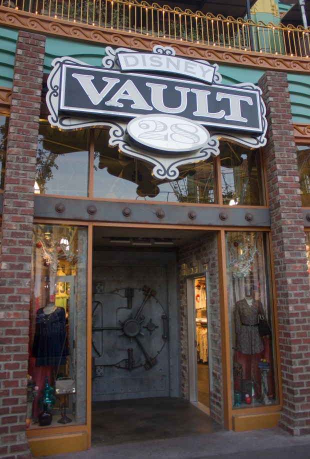 Disney Vault 28 , which features a variety of art and collectible merchandise at the Disneyland Resort's Downtown Disney shopping district, will be closing at the end of September 2017 to make room for the virtual reality experience Star Wars: Secrets of the Empire. (File photo by Mark Eades, Orange County Register/SCNG)