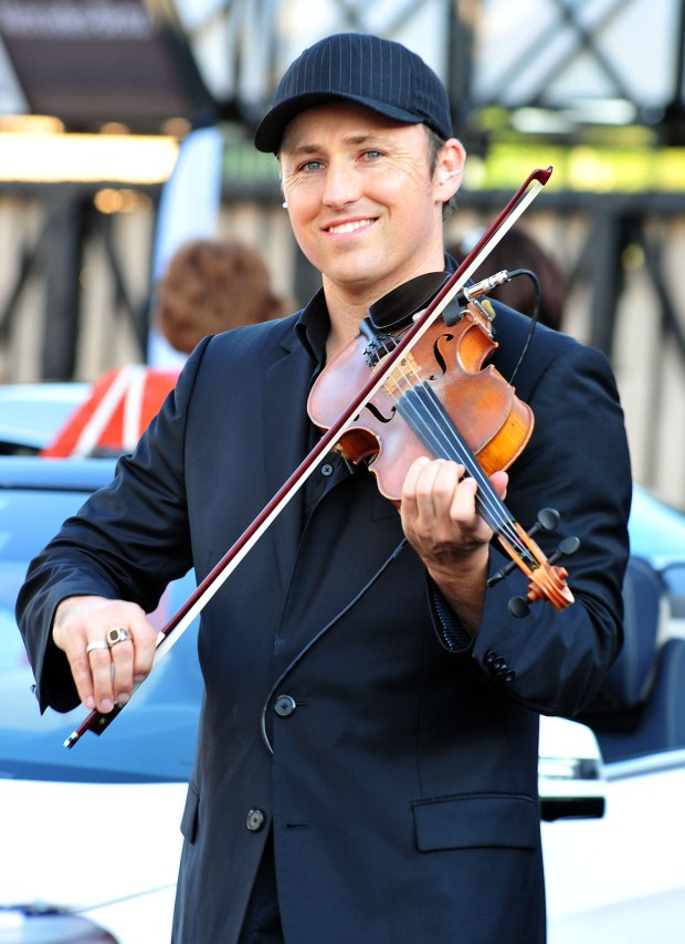 Hip-hop/pop violinist Josh Vietti will perform in Huntington Beach on Sunday, Aug. 20.(Photo by Kelly A. Swift/OC Register)