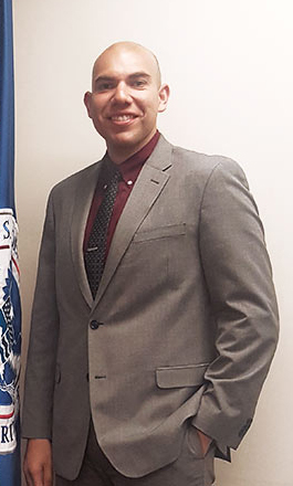 Raul Gonzalez, a public administration major, worked at U.S. Citizenship & Immigration Services this summer as part of Cal State Fullerton's DC Scholars program. (Photo courtesy of Cal State Fullerton)