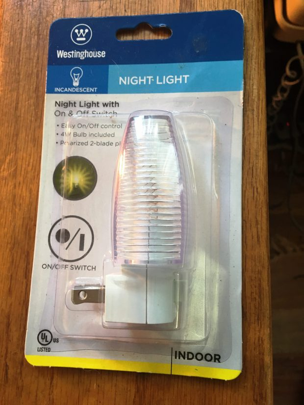 Buy a night light like this for a buck at the dollar store and plug it into your hotel room's bathroom for when you wake up jet-lagged and disoriented. In some countries, you will need a converter. Credit: Marla Jo Fisher, the Orange County Register.