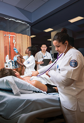 Cal State Fullerton's School of Nursing received a federal grant to further enhance the diversity of its students. (Photo courtesy of Cal State Fullerton)