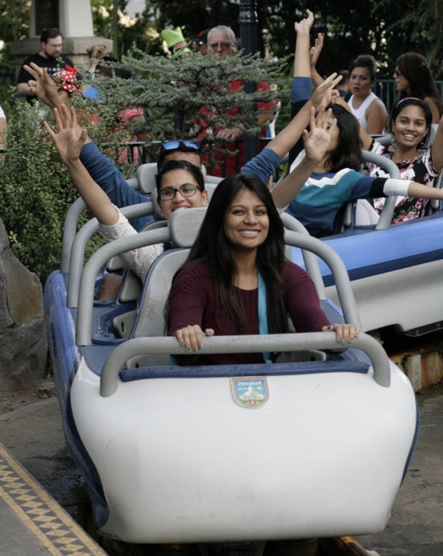 Trips to Disneyland and Universal Studios are among the activities of the International Students Association. (Photo courtesy of the International Students Association)