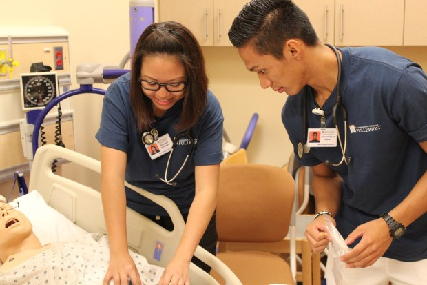 Nursing is a difficult major, says the Nursing Student Association, so the club serves as a resource for networking, outreach and more. (Photo courtesy of the Nursing Student Association)