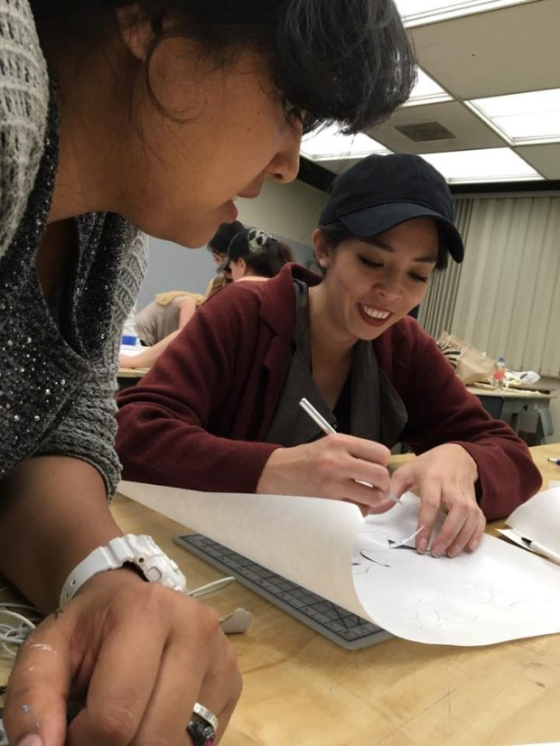 The Graphic Design Club aims to build connections in the local design community to help members land a job upon graduation. (Photo courtesy of the Graphic Design Club)