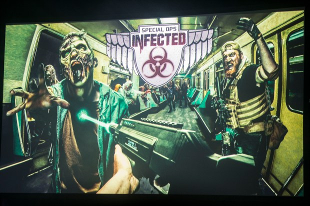 Special Ops Infected is a returning attraction at Knott's Scary Farm at Knott's Berry Farm in Buena Park on Thursday, August 31, 2017. (Photo by Matt Masin, Orange County Register, SCNG)