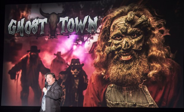Ghost Town will have new features at Knott's Scary Farm at Knott's Berry Farm in Buena Park on Thursday, August 31, 2017. (Photo by Matt Masin, Orange County Register, SCNG)