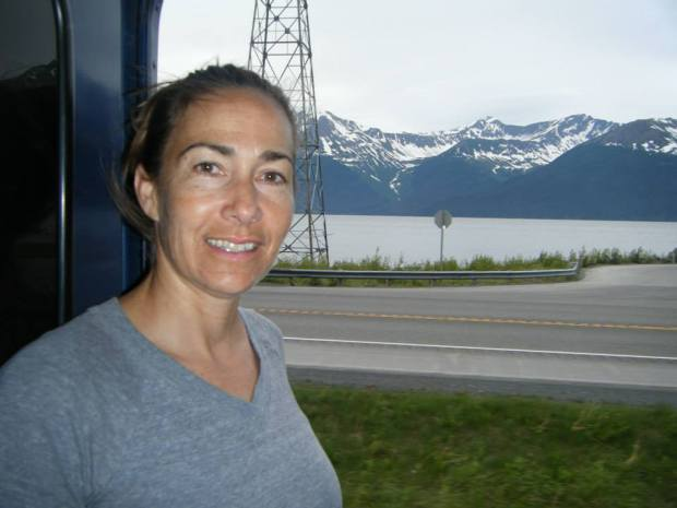 Fountain Valley High science teacher Lisa Battig will exchange her observations of Alaska by train to an oceanic adventure with NOAA's Teacher at Sea program. (Photo courtesy Lisa Battig)