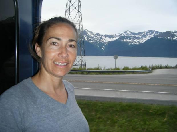 Fountain Valley High science teacher Lisa Battig will exchange her observations of Alaska by train to an oceanic adventure with NOAA's Teacher at Sea program. (Photo courtesy Lisa Battig)