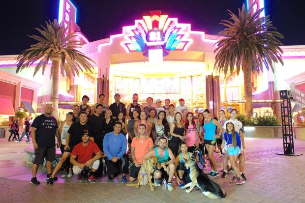The Funning Running club meets for a run and happy hour at the Irvine Spectrum on the third Wednesday of every month.