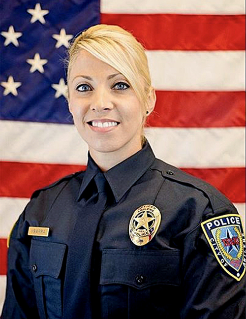 Abilene Police Detective Elise Ybarra, 33, was killed in a car crash in Dallas while on the way to a Crimes Against Children Conference. Ybarra grew up in Anaheim and graduated from Anaheim High School. (Photo courtesy of the Anaheim Police Dept.)
