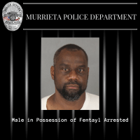 James Lee, 48, of Sun City was arrested Sunday on suspicion of possessing fentanyl -- a powerful opioid that authorities say is becoming increasingly popular. (Photo courtesy of Murrieta Police Department) .