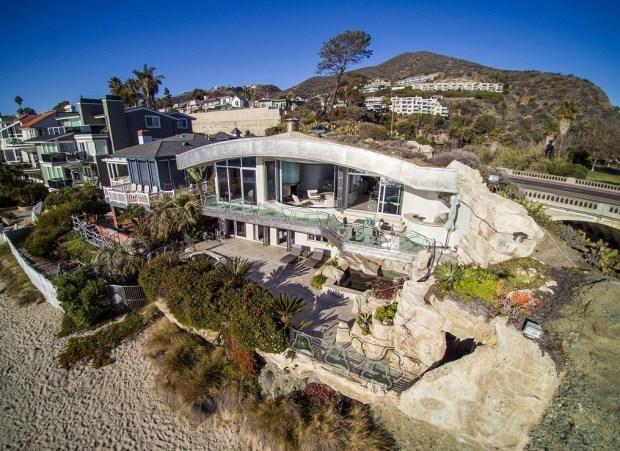 The landmark Rock House, at 31107 Coast Highway, Laguna Beach (Photo by Jon Encarnacion)