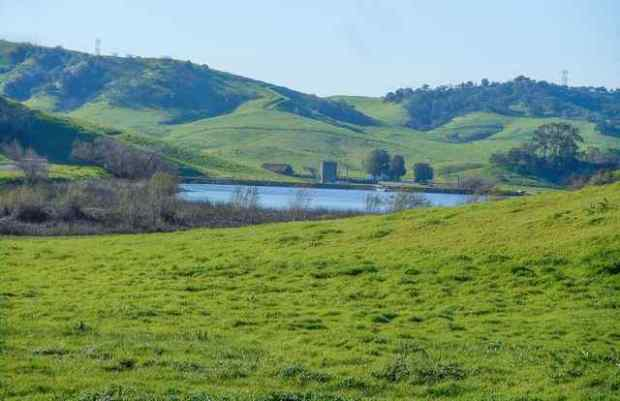Tres Hermanos is a 2,450-acre ranch with rolling hills and a reservoir. The City of Industry bought the land for $41.6 million Thursday, Aug. 24, and plans to build a solar project there.(File photo courtesy of Teresa Wang)