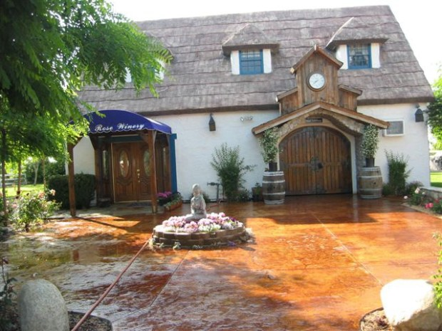 ORG XMIT: An exterior shot of Briar Rose Winery NO OTHER INFORMATION provided