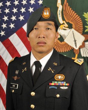 Capt. James Ahn (Courtesy of US Army)