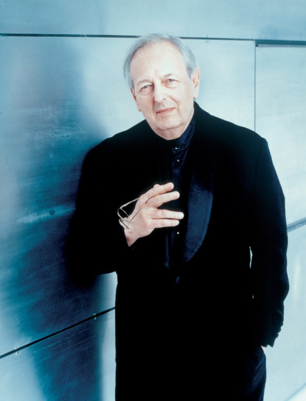 Legendary conductor/composer/pianist Andre Previn will not be a guest this year at Pacific Symphony as planned. He canceled his October appearance due to injury. (Photo courtesy Pacific Symphony)
