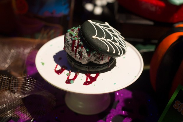 The Spider Silk Ice Cream Sandwich available at Disney California Adventure on Friday, September 15, 2017. (Photo by Drew A. Kelley, Contributing Photographer)