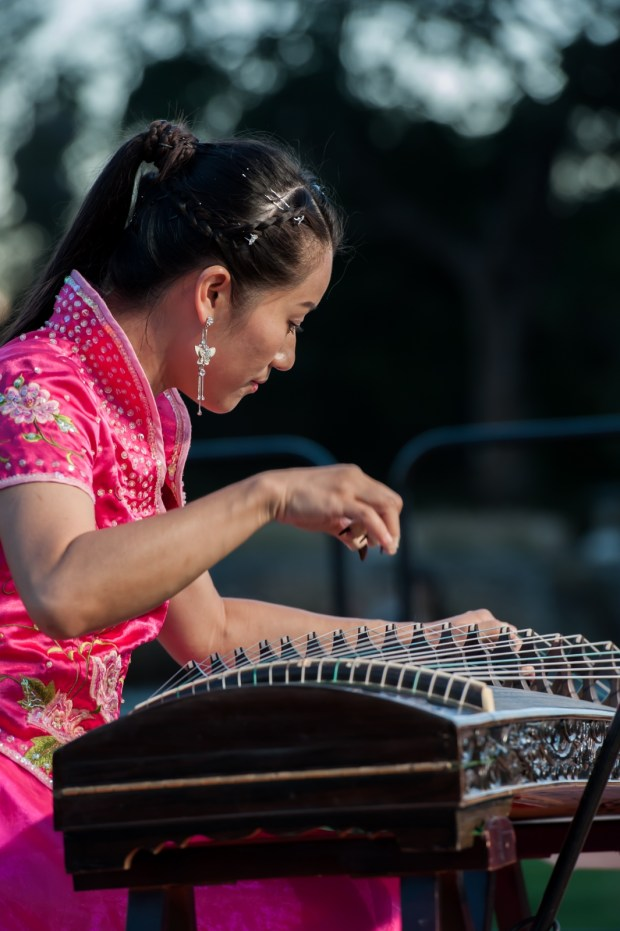 The Arcadia Moon Festival fills the L.A. Arboretum and Botanic Garden with Chinese music, dance and storytelling on Sept. 30. (Courtesy of the L.A. Arboretum)