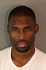 Raymond Vaughn, 33, was arrested Thursday, Sept. 21, 2017, in the 2000 block of Ostrems Way in San Bernardino in connection with an officer-involved shooting in the 26000 block of Scott Victor Circle in Moreno Valley. Courtesy of Riverside County Sheriff's Department