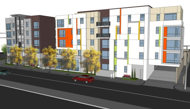 Fullerton Family Housing Rendering